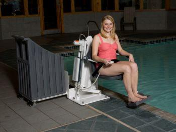 The Patriot Portable Pro Pool Lift